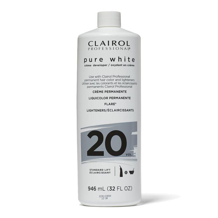 Pure White 20 Volume Creme Developer 32 oz.