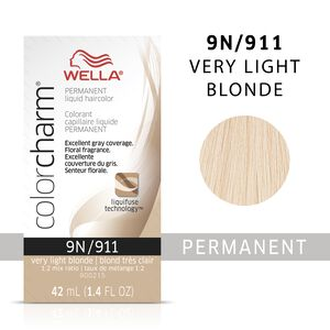 Very Light Blonde Color Charm Liquid Permanent Hair Color
