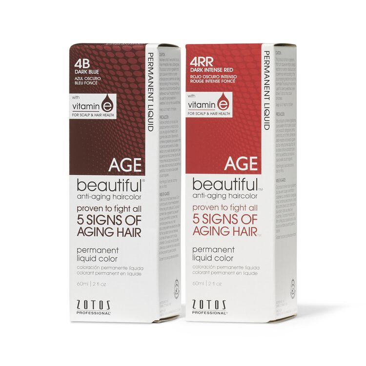 Shades of Intrigue Anti Aging Permanent Liquid Hair Color