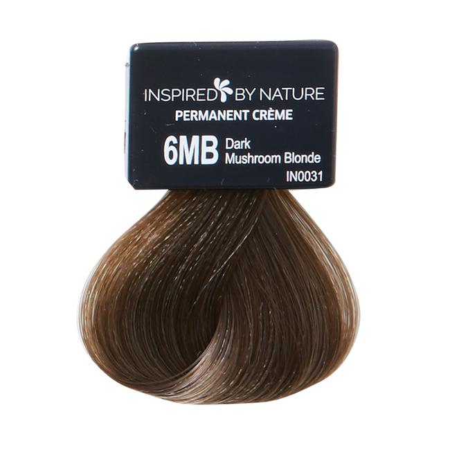 Ammonia-Free Permanent Hair Color Dark Mushroom Blonde 6MB