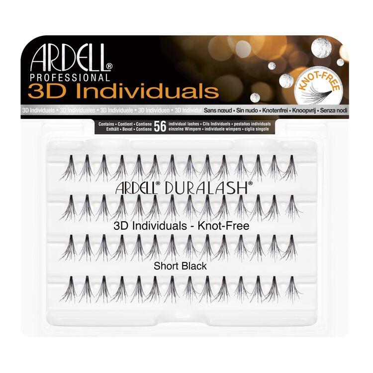 3D Individuals Short Lashes