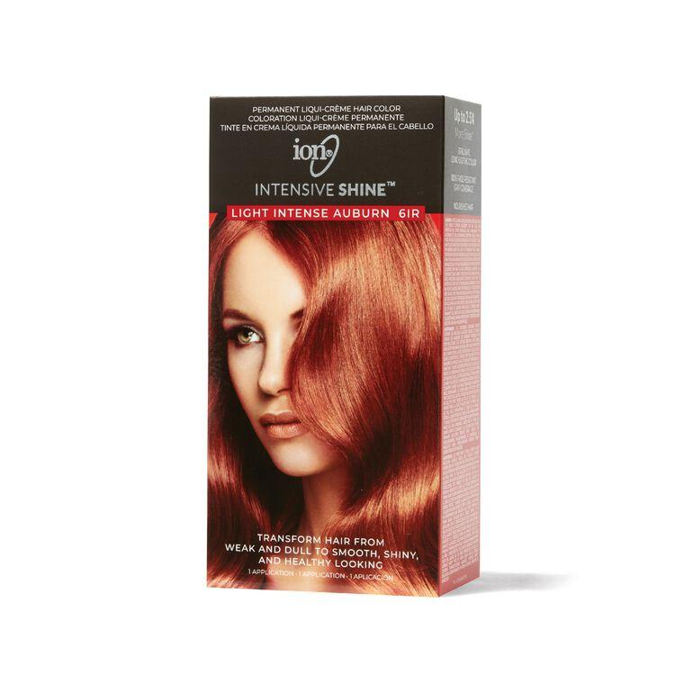 Intensive Shine Hair Color Kit Light Intense Auburn 6IR
