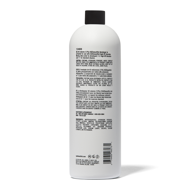 40 Volume Gentle Creme Developer 16 oz.