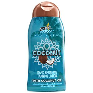 Coconut Dark Bronzing Tanning Lotion