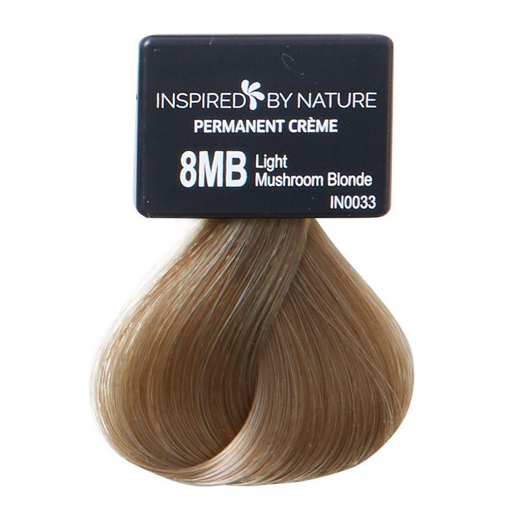 Ammonia-Free Permanent Hair Color Light Mushroom Blonde 8MB