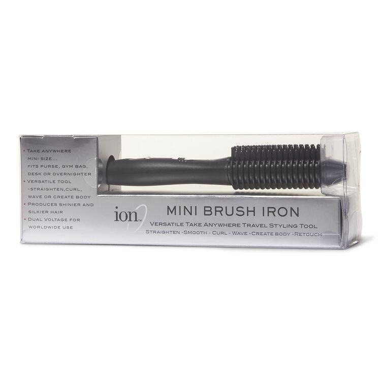 Travel Straightening Brush Iron