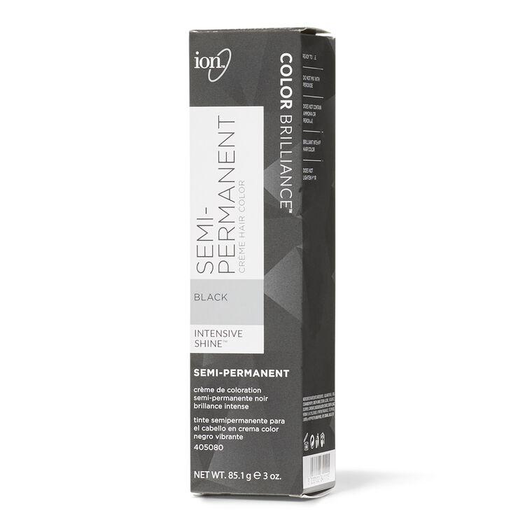 Black Semi-Permanent Hair Color
