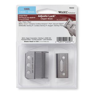 3-hole Adjusto-lock Clipper Blade Set