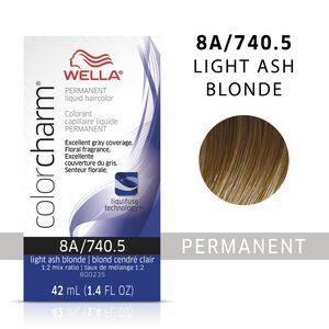 Light Ash Blonde Color Charm Liquid Permanent Hair Color