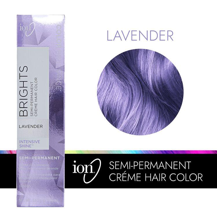 Lavender Semi Permanent Hair Color