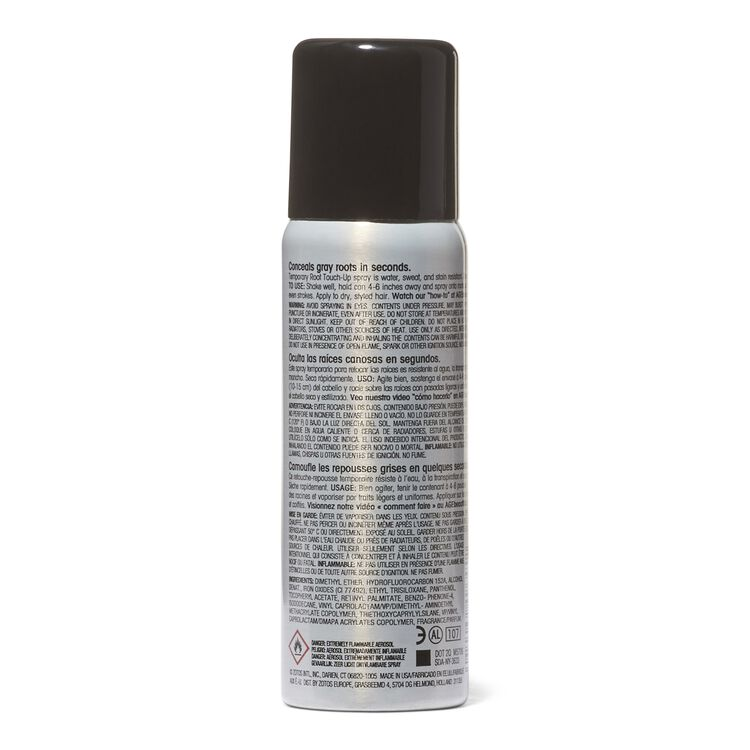 Black Root Touch Up Spray Temporary Hair Color