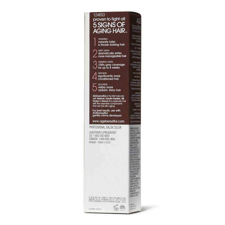 1V Plum Black Permanent Liqui-Creme Hair Color