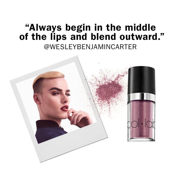 Glitter & Go Lip Pigment Top It Off