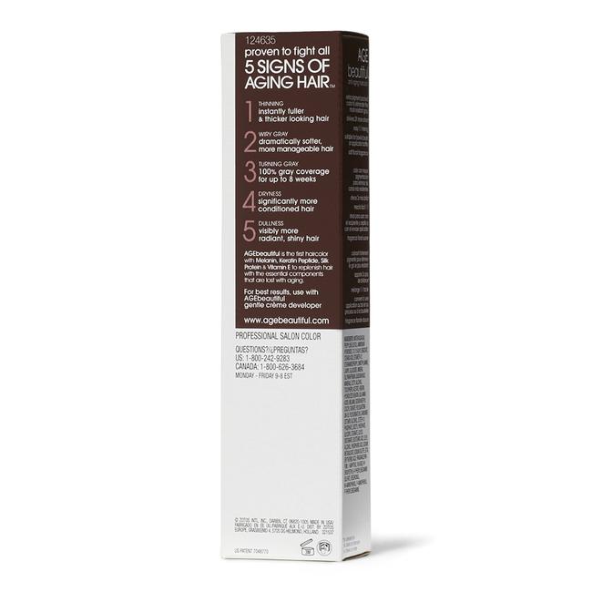 6NN Light Intense Brown Permanent Liqui Creme Hair Color