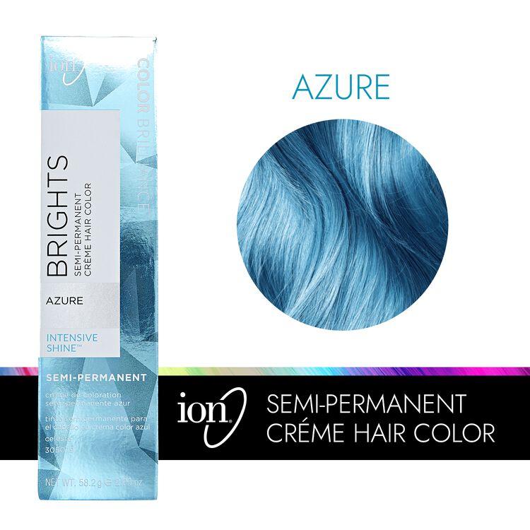 Azure Semi Permanent Hair Color