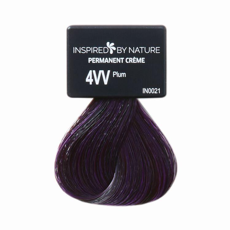 Ammonia-Free Permanent Hair Color Plum 4VV