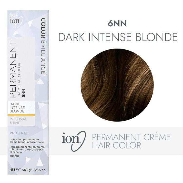 6NN Dark Intense Blonde Permanent Creme Hair Color