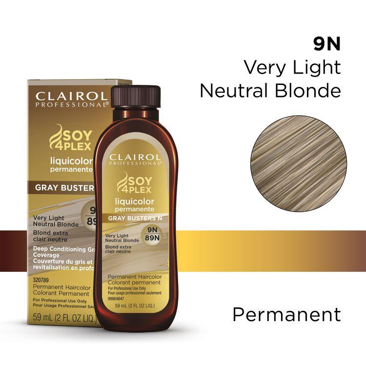 Clairol Pro Liquicolor 89N Very Light Neutral Blonde