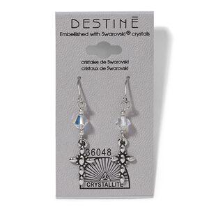 Destine Cross Dangle Earrings