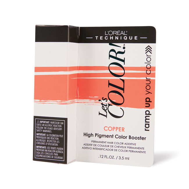 Let's COLOR! Conditioning Gelee Permanent Haircolor Copper Booster