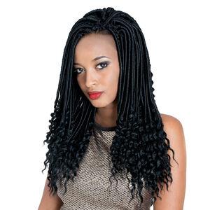 Short Goddess Faux Locs 14 Inch Crochet Hair