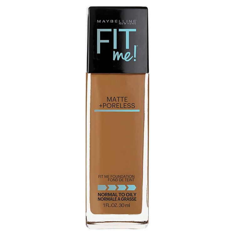 Fit Me Matte + Poreless Liquid Foundation Warm Sun