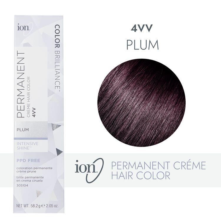 4VV Plum Permanent Creme Hair Color