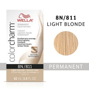 Light Blonde Color Charm Liquid Permanent Hair Color