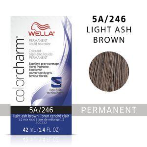 Light Ash Brown Color Charm Liquid Permanent Hair Color