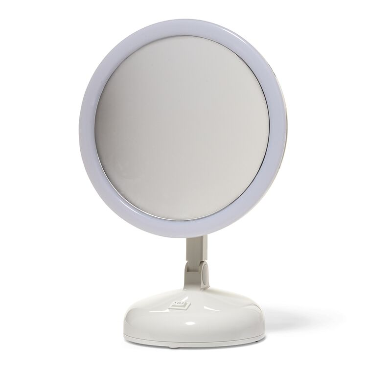 10x Magnifying 360 Degree Lighted Vanity Mirror