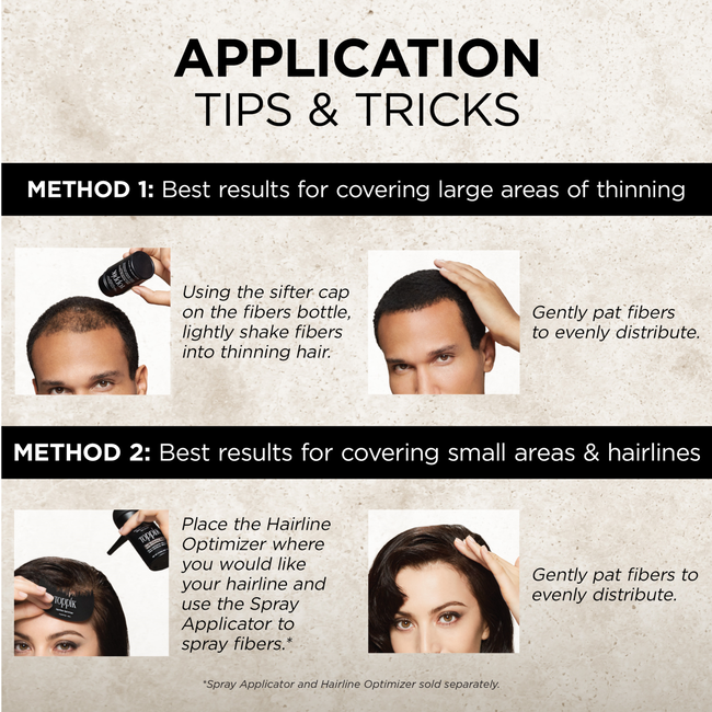 Medium Brown Hair Building Fibers