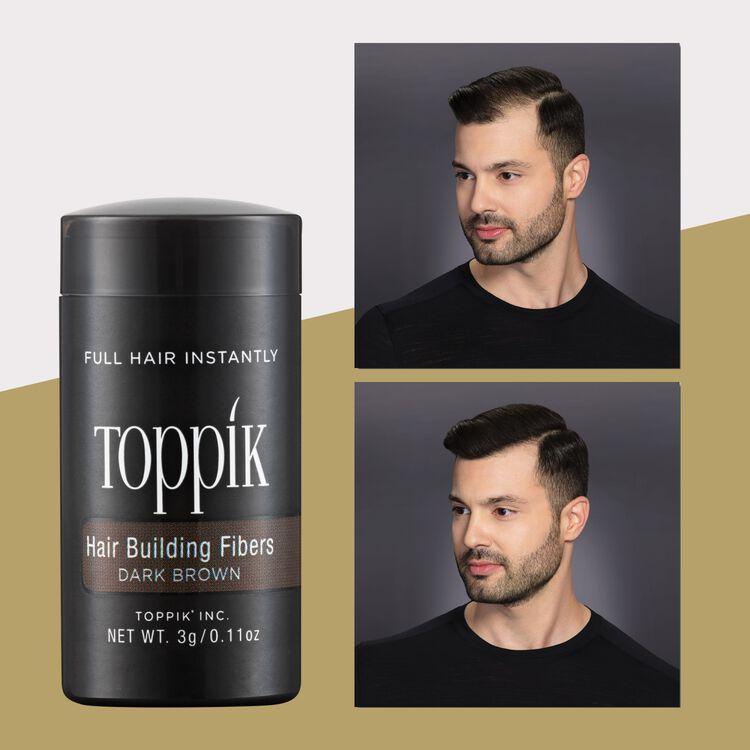 Dark Brown Travel Size Hair Building Fiber