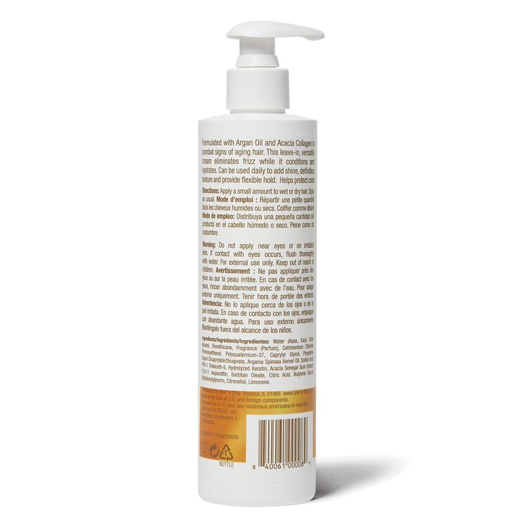 Argan Oil Smoothing Styling Cream