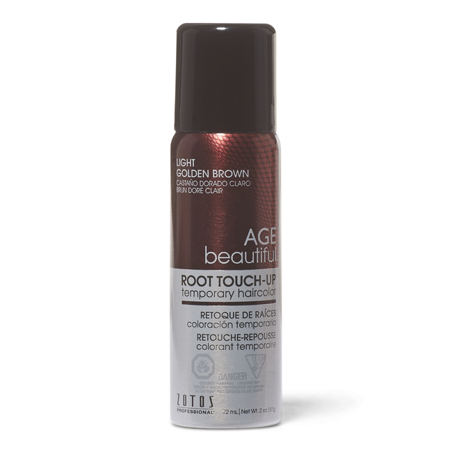 Light Golden Brown Root Touch Up Spray Temporary Hair Color