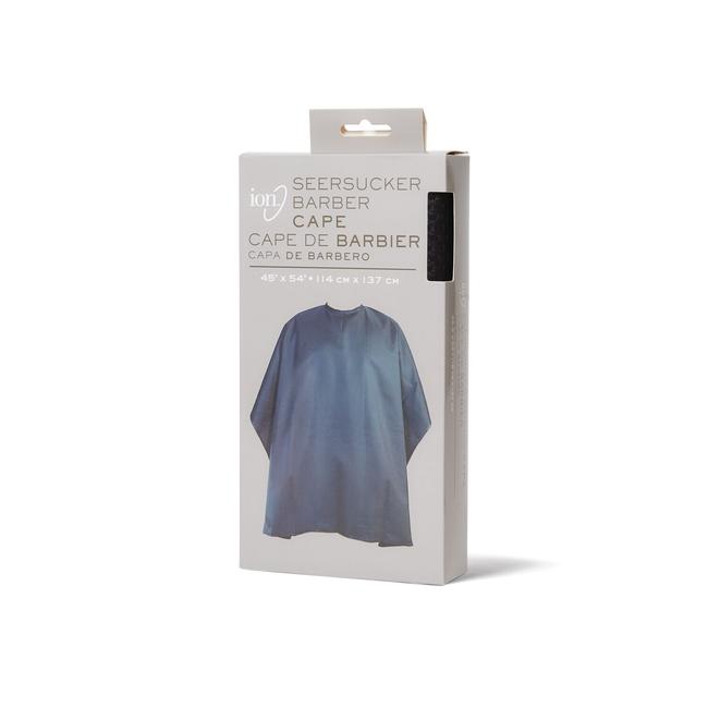 Seersucker Barber Cape