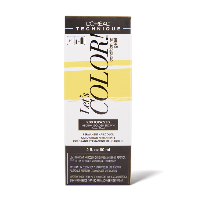 Let's COLOR! Conditioning Gelee Permanent Haircolor 5.30 Topazzed