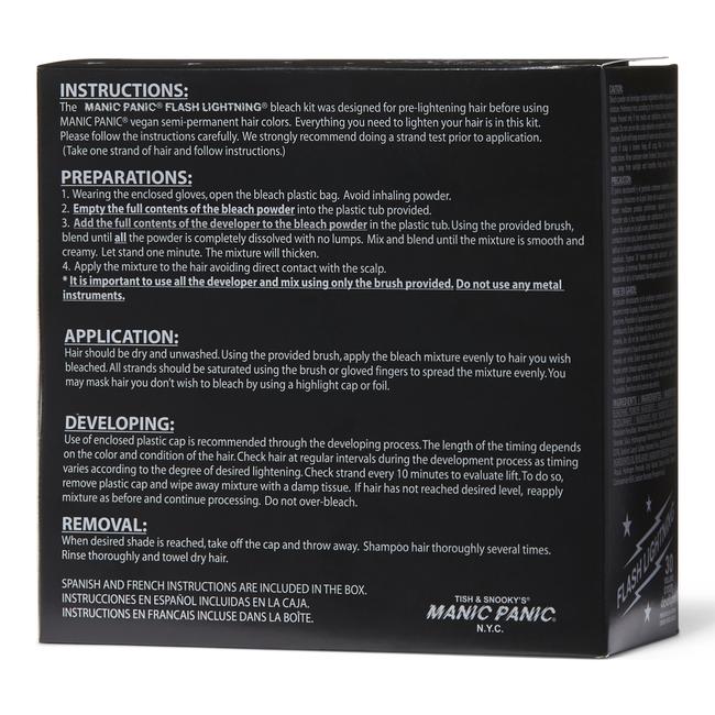 Flash Lightening 30 Volume Bleach Kit