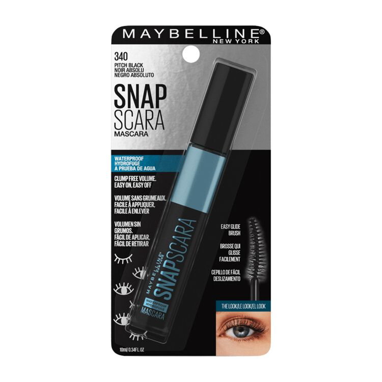 Snapscara Waterproof Mascara Pitch Black