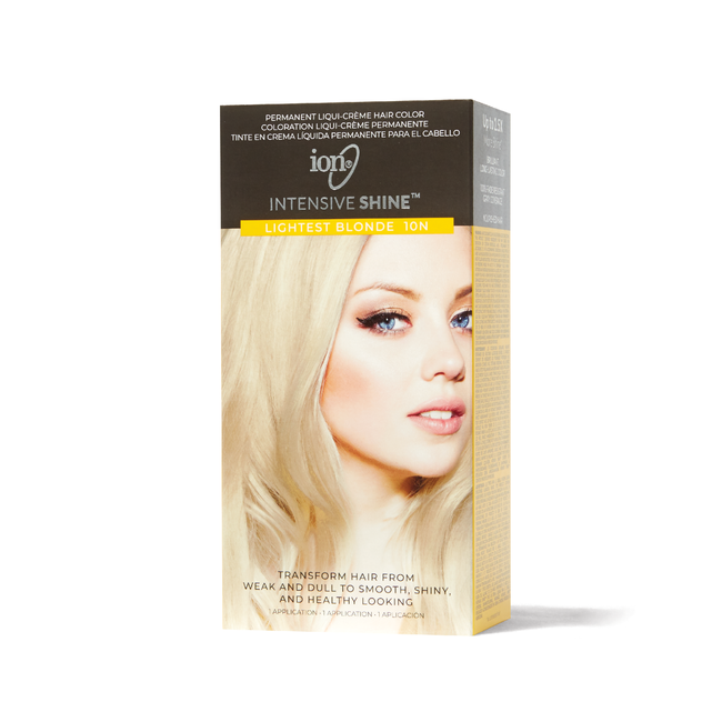 Intensive Shine Hair Color Kit Lightest Blonde 10N