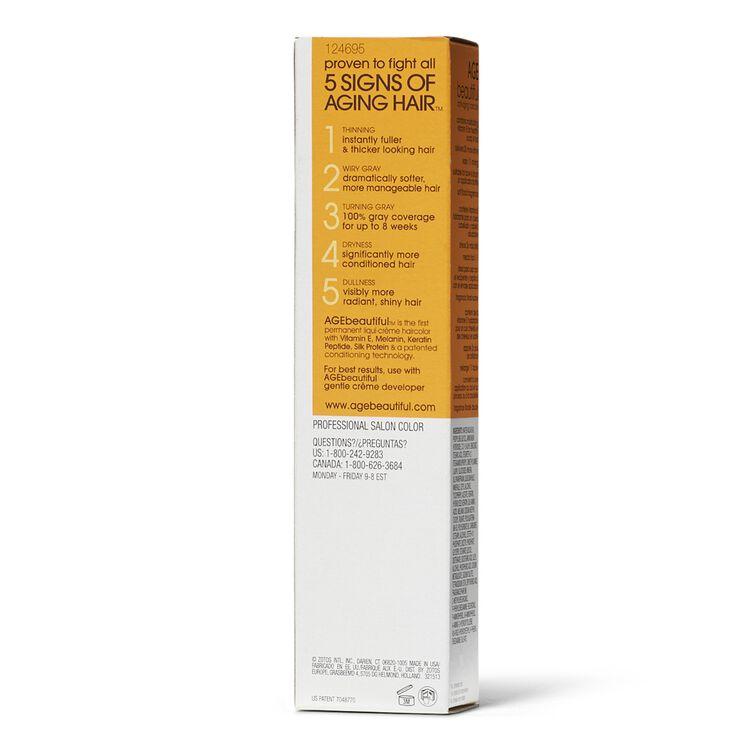 7WB Dark Warm Beige Blonde Liqui-Creme Permanent Haircolor