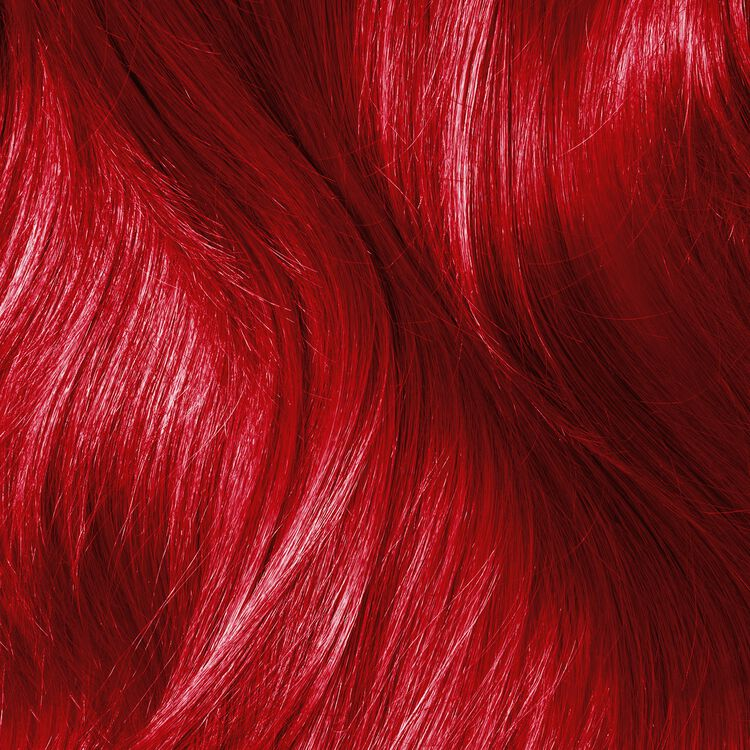 Red Semi Permanent Hair Color