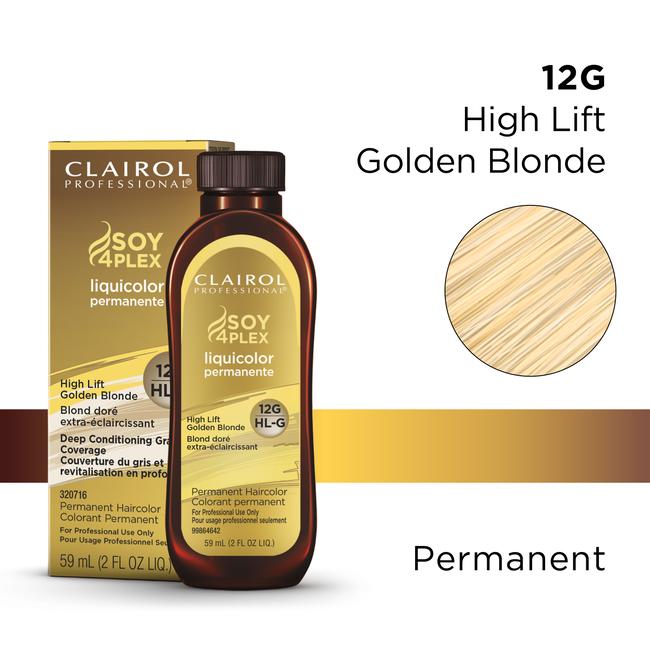 Clairol Pro Liquicolor HL-G Golden Blonde