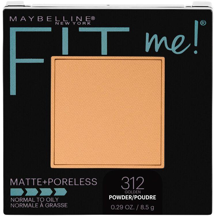 Fit Me Matte + Poreless Powder Golden