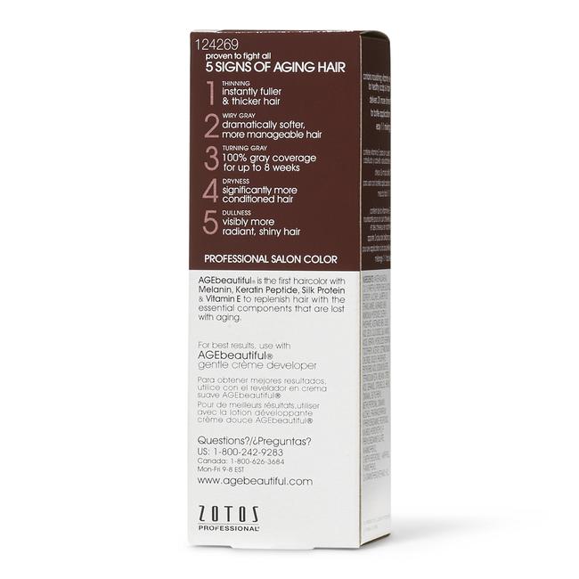 Anti-Aging 5N Medium Brown Permanent Liquid Hair Color