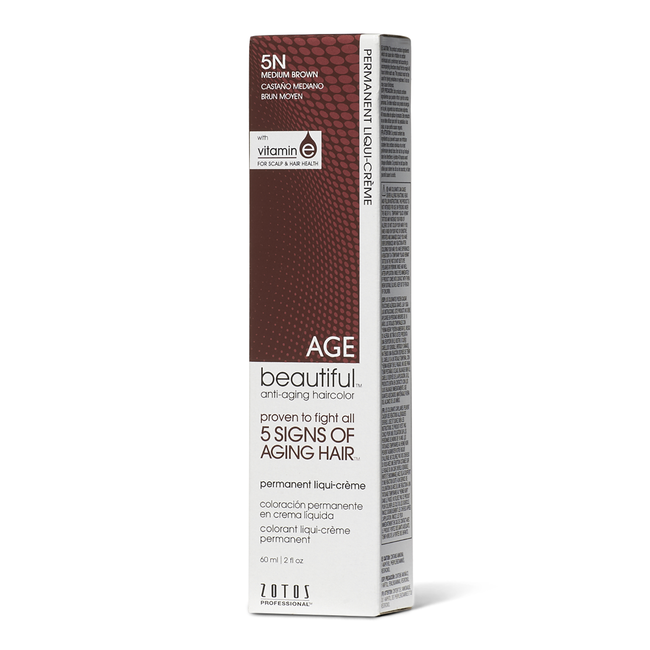 5N Medium Brown Permanent Liqui-Creme Hair Color