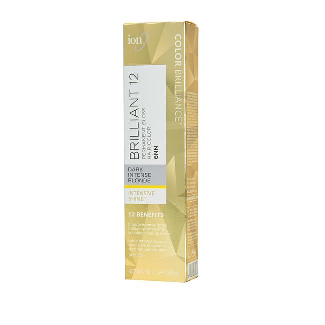 Brilliant 12 Intense Neutrals 6NN Dark Intense Blonde Permanent Crème Hair Color