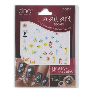 Under The Sea 3-D Nail Art Decals