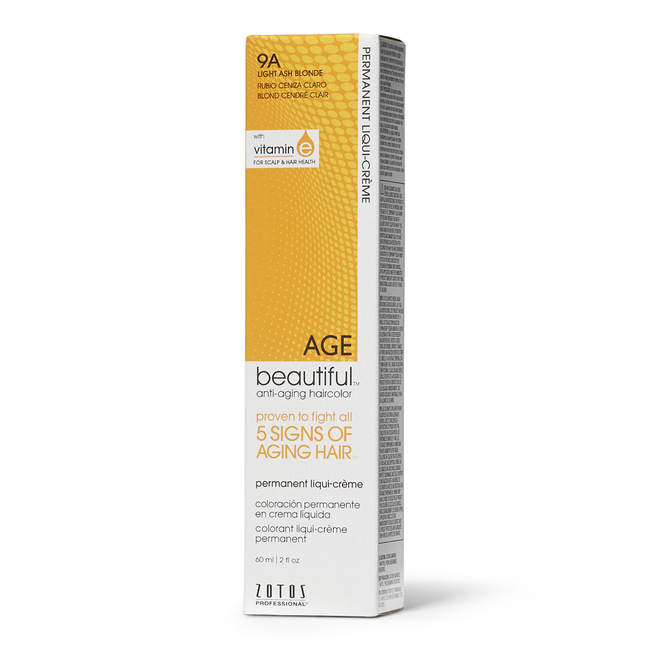 9A Light Ash Blonde Permanent Liqui-Creme Hair Color