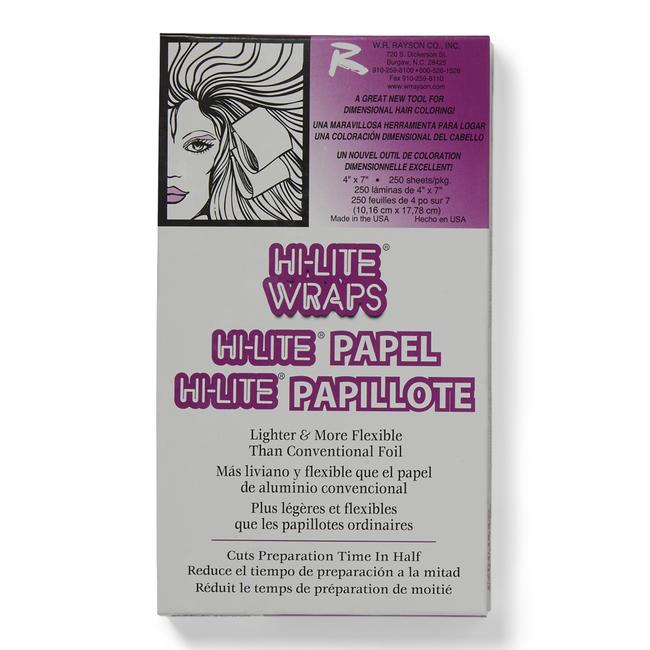 """Hi-Lite Foil Wraps Short 4""""x 7"""""""