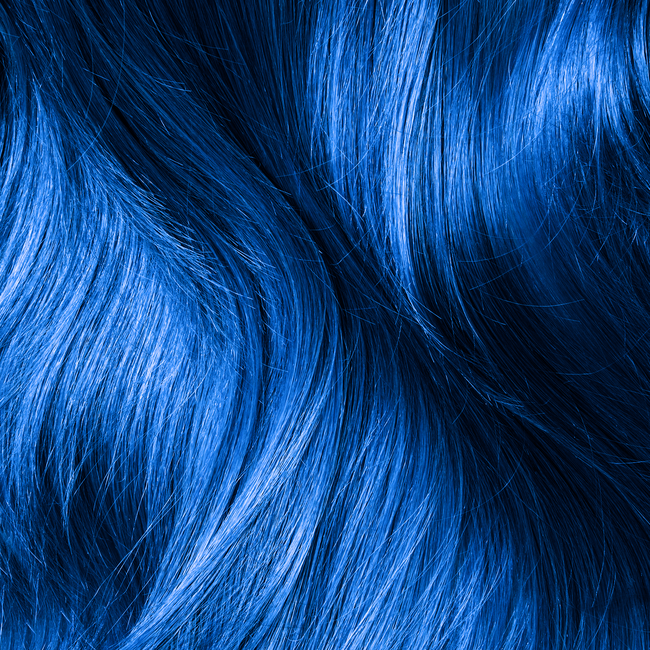 Sky Blue Semi Permanent Hair Color
